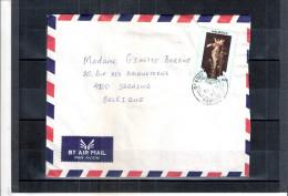Lettre De Mauritius Vers Belgique - 1997 (à Voir) - Maurice (1968-...)