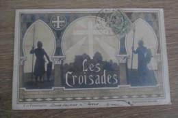 CPA CROISADES FRONTISPICE - Histoire
