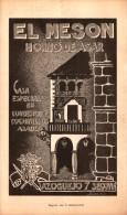 El Meson , Horno De Asar , Azoguejo 7 Segovia , Alrededor De 1860 !!! - Documentos Históricos