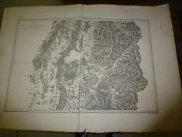 18?? Carte De La Région De COLMAR ,              Lith. De L. Letronne 15 Quai Voltaire, Paris - Geographical Maps