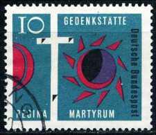 BRD - Michel 397 - OO Gestempelt (C) - Regina Martyrum - [7] Repubblica Federale