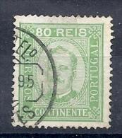 140019759  PORTUGAL  YVERT   Nº  73a  D 13 1/2 - Usado