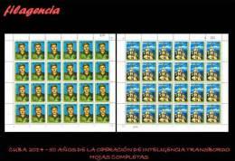 CUBA. PLIEGOS. 2014-10 50 ANIVERSARIO DE LA OPERACIÓN TRANSBORDO DEL SERVICIO DE INTELIGENCIA CUBANO - Blocks & Kleinbögen