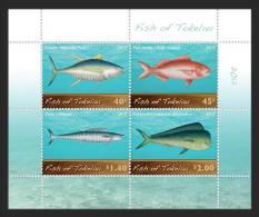 TOKELAU 2012 -Faune Marine, Poissons Des Iles Tokelau - BF NEUFS *** MNH Sheet - Tokelau