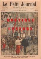 488 < PETIT JOURNAL < AMBULANCE INCENDIE THEATRE Mel HENRIOT + BOERS KRUGER & STEIJN + EXPOSITION PARIS 1900 TRANSVAAL - Journaux - Quotidiens
