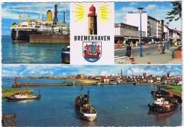 Cpm BREMERHAVEN Multivues - Bremerhaven
