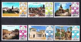 Jeux Olympiques De Munich N°528 à 533 - Liberia