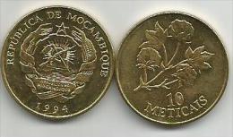 Mozambique 10  Meticais 1994. UNC - Mozambique