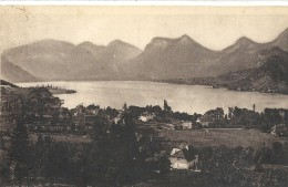 -288--LAC D ANNECY--TALLOIRES--LE PETIT LAC--JOLI AFFR DU 4-7-1936-- - Annecy
