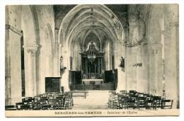 CPA  51  :  BERGERES Lès VERTUS   Intérieur église  A  VOIR  !!!!!!! - Sonstige Gemeinden