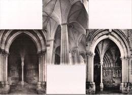 - 37 - CANDE-ST-MARTIN: - 3 Cpsm Artaud- L'Eglise: Le Porche, L'intérieur, Le Palmier Et Le Portail - XII Et XIIIè S. - - France
