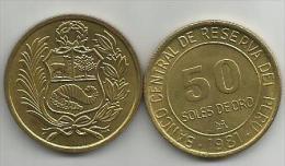 Peru 50 Soles De Oro 1981. - Pérou