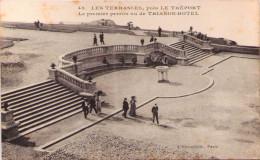 LES TERRASSES Près LE TREPORT - Le Premier Perron Vu De Trianon-Hôtel - Unclassified
