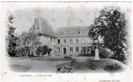 Cpa Conches ( Eure)  L'Hôtel De Ville - Conches-en-Ouche