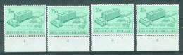 BELGIE - OBP Nr 1529 - Dag Van De Postzegel - PLAATNUMMER 1/4 - MNH** - Numéros De Planches