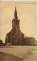 -SOMBREFFE-église Et Place - Sombreffe