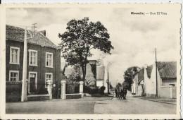 -SOMBREFFE-église Et Place-Rue El' Vau- Attelage Chargé- - Sombreffe