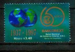 Mexique Mexico 1997 - Banque Du Commerce Extérieur / Bank For International Trade - MNH - Fabbriche E Imprese