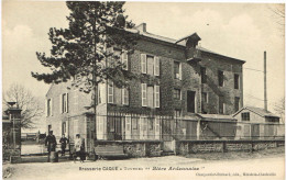 ARDENNES 08.TOURNES BRASSERIE CAQUE BIERE ARDENNAISE - Altri Comuni