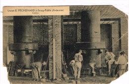 ARDENNES 08.BOURG FIDELE USINES E. PECHARD CUBILOTS - France