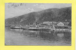 BREGENZ  Hafen Bateaux Vapeur 1907 - Ohne Zuordnung