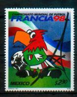 Mexique Mexico 1998 - France 98, Coupe Du Monde De Football / Soccer World Cup - MNH - Fußball-Weltmeisterschaft