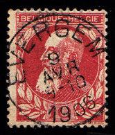BELGIUM - Scott #85 King Leopold (*) / Used Stamp - 1905 Thick Beard