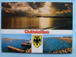 V08-17-charente Maritime-chatemaillon--blason-3 Vues-- - Châtelaillon-Plage