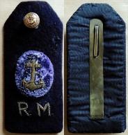 MARINE Ancienne épaulette D'officier De Marine (origine à Identifier) - Uniforms