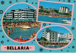 BELLARIA     MULTIVEDUTE             (VIAGGIATA) - Rimini