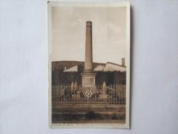 52 HAUTE MARNE Poissons Monument Aux Morts De La Grande Guerre 1914 18 - Poissons