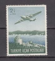 Turkey 1950.1V,planes,vliegtuigen,flugzeuge,avions,avións,aerei,MH/Ongebruikt(A1683it) - Vliegtuigen