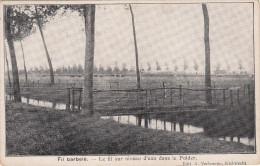 Kieldrecht, Fil Barbelé, Le Fil Sur Niveau D´eau Dans Le Polder (pk16986) - Beveren-Waas