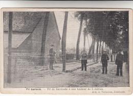 Kieldrecht, Fil Barbelé, Fil De Barricade à Une Hauteur De 5 Mètres (pk16987) - Beveren-Waas