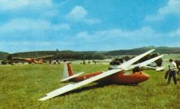 Gedern Oberhessen MB Segelflugplatz Segelflugzeug Feriendorf See Boot 8.7.1971 - Autres