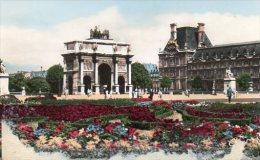 CPSM PARIS - PLACE ET ARC DE TRIOMPHE DU CARROUSEL - Arc De Triomphe