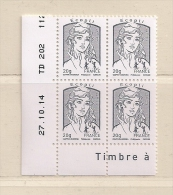 FRANCE  (D16 - 8230 )   2013  N° YVERT ET TELLIER  N° 4766   N** - Coins Datés