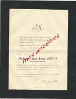 Avis De Décès 1923 Et 1939-Monsieur Et Madame Adolphe GAUTRIN-architecte Expert - Décès