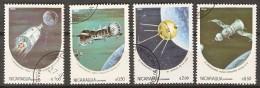 NICARAGUA     -   1984 .   Série    ESPACE  /  COSMOS       Oblitérés - Space