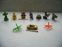 Ü-Ei & Sonstige - MPG - Deko - Figurenmix Tiere, Porsche (& Mehr) / Miniaturen (Setzkasten O.ä.) - Otros