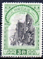 PORTUGAL 1928 3rd Independence Issue - 3c Storming Of Santarem MH - 1910-... Republic