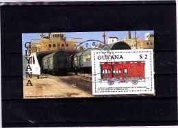 GUYANA : Trains    : Y&T : BFo - Guyane (1966-...)