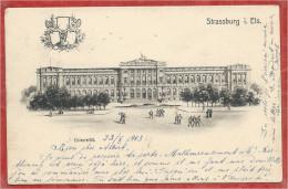 67 - STRASSBURG - STRASBOURG - Universität - Université - Carte D´étudiant - Studentika - Strasbourg