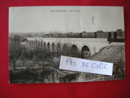 GAJAN Le Viaduc, (passage Train), Circulée - France