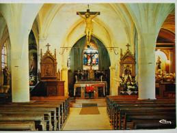 52 - PREZ Sous LAFAUCHE - Intérieur De L'Eglise Saint-Didier - Choeur Du XIII°. - Autres Communes