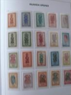 "Ruanda-Urundi 1948 ** MNH cob 154/175  "" masques ""  cat: 102,50 euro (scan )"