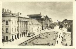 """ROMANIA  TIMISORA    Boulevard Du """" 23 August""""  Tram   QSL - Romania"""