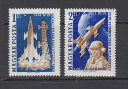 Hungary 1961 - Michel 1753 A-1754 A MNH ** - Hungría