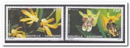 New Caledonie 1991, Postfris MNH,  Flowers, Orchids - Nuevos
