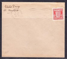 СOVERS-36 COVER WITH STAMP - Guernesey